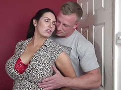 Booty busty mom suck and fuck lucky son Thumb
