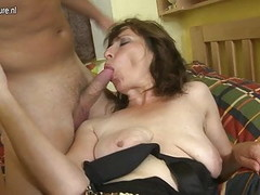 Hairy mom fucking her son's best friend Thumb