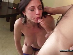 Mom get Anal fuck in her old ass and cum in Face Thumb