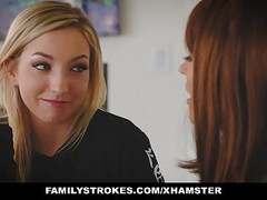 FamilyStrokes - Seduce By Lesbian Step-Mom To Fuck Thumb