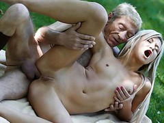 Old Young Porn Teen Gold Digger Anal Sex With Wrinkled Old Thumb
