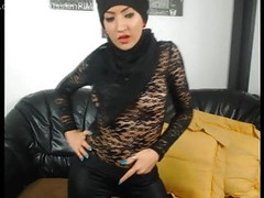 Islamic middle-eastern girls in leather fetish dance Thumb
