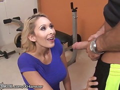 Stepmom Seduces her stepson at the Gym Thumb