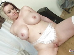 Busty Maid Lilly Pink Shows Her Skills Thumb