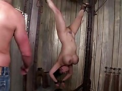 kinky big titted asian milf gets tied, punished and dp Thumb