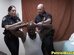 Dominating cops want black suspects cock Thumb
