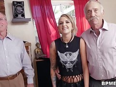 Presley Carter Fucks With Old Man For Concert Ticket Thumb