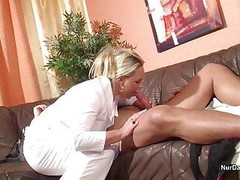 German MILF Nurse helps patient with Fuck to feel good Thumb