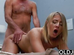 Blonde Teen Fucked By Hairy Old Man she loves getting sex Thumb