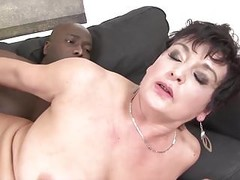 Granny Hardcore fucked by black man in her tight ass sex Thumb