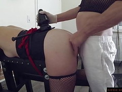 BDSM Anal Slave Double Training of the Littel Sunshine MILF Thumb