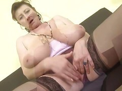 Gorgeous Czech mature mother with super boobs Thumb