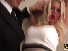 British bdsm sub pounded and dominated Thumb