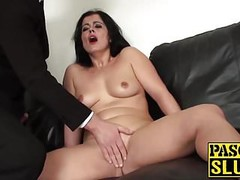 Big ass mature Montse Swinger fingering her wet juicy cunt Thumb