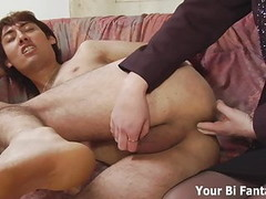 Asian pervert gets a hot prostate massage Thumb