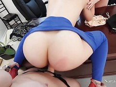 Teaches Sara & Maggie Fuck Bad Student Kimber in  Threesome! Thumb