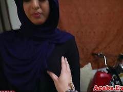 Hijab muslim amateur doggystyled on camera Thumb