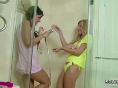 Two Petite Virgin in First Time Lesbian When Home Alone Thumb