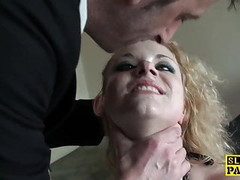 Humiliated uk sub spanked hard and ass plowed Thumb