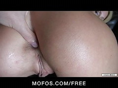 Mofos - Sexy Tattooed blond Trixie Star filmed first anal Thumb
