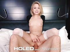 HOLED Tiny Dakota Skye gets her ass pounded by huge cock Thumb