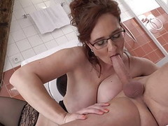 Taboo home sex with super hot mothers Thumb