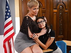 I'm Teacher And You're My Student, Eliza! (Lesbian Sex) Thumb