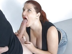 Big tit German MILF amazing tit fuck and cum splash Thumb